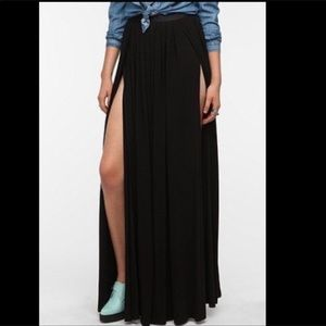 Ecote Double Slit Skirt- 6